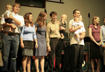 Trey's Baby Dedication